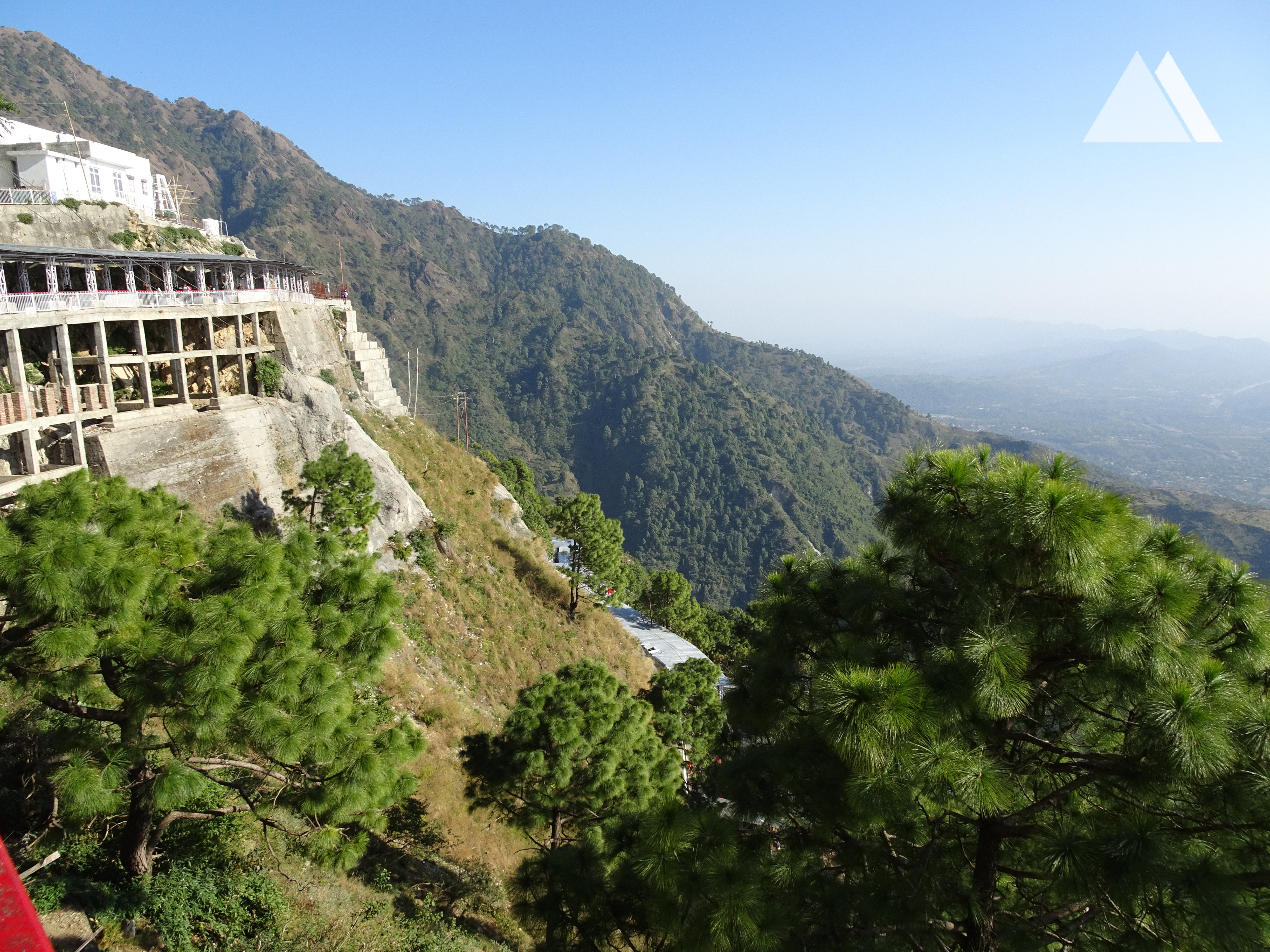 vaishno devi road with Trek Route To Shri Mata Vaishno Devi Shrine 2 82842 on Vaishnodevi Yatra Banganga To Charan Paduka also Watch further Famous Temples In Vrindavan also Dsc02017 3 together with Amarnath Temple Considered To Be One Of.