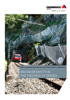 RXE rockfall protection barriers from 500 to 10000 kJ