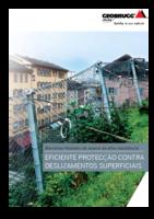 Protecção contra deslizamentos superficiais