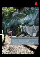 Barreiras RXE contra queda de rochas (500-10000 kJ)