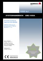 Systemhandbuch GBE-1000A