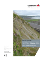 Appendix TECCO® SYSTEM³ - STAINLESS