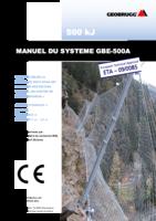 Manuel du système GBE-500A