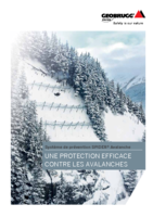 Une protection efficace contre les avalanches