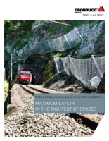 RXE rockfall protection barriers from 500 to 10000 kJ (US letter)