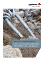 Anclaje de cable espiroidal y cabezal FLEX (A4 version)