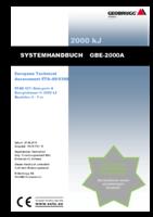 Systemhandbuch GBE-2000A