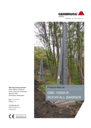 Product manual GBE-1000A-R
