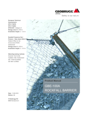 Product Manual GBE-100A