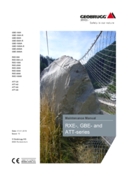 Maintenance manual GBE-/RXE-/ATT-series