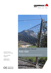 Handbuch - Notice - Manuale  RXE-1000