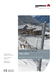 Handbuch - Notice - Manuale RXE-2000