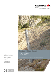 Handbuch - Notice - Manuale  RXE-8000