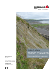 Handbuch-Anhang TECCO® System - STAINLESS