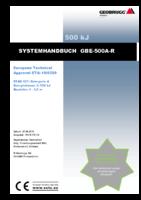 Systemhandbuch GBE-500A-R