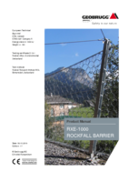 Product manual RXE-1000