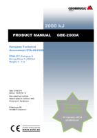 Product manual GBE-2000A