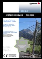 Systemhandbuch RXE-1000