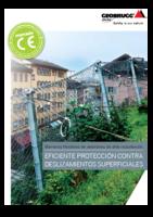 Eficiente protección contra deslizamientos superficiales (A4 Format)