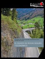 Cortinas de acero de alta resistencia para guiado de rocas