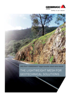 The lightweight mesh for geotechnical solutions