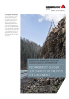 Système de protection contre les chutes de pierres ATTENUATOR