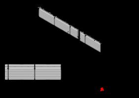 FIA Mobile Debris Fence 350x400