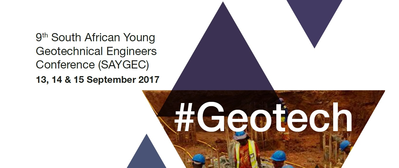 9th South African Young Geotechnical Engineers Conference (SAYGEC)