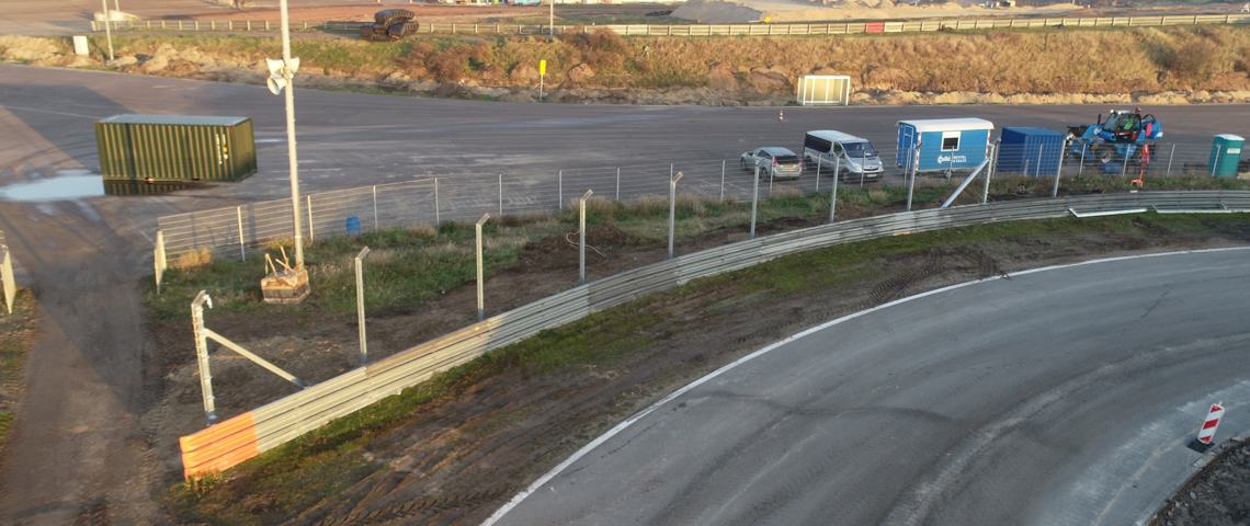 F1 Zandvoort: Geobrugg will install around 3,400m of permanent debris fences (Credit: Dromo).