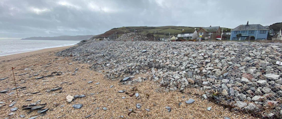 Coastal erosion protection with TECCO® CELL