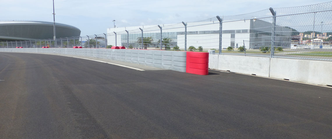 Protection for Formula 1 in Sochi