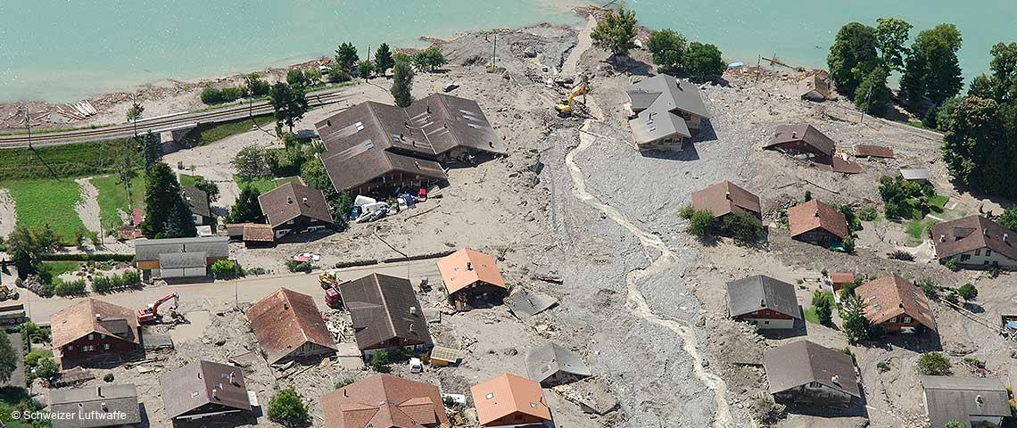 Pericoli naturali in Svizzera
