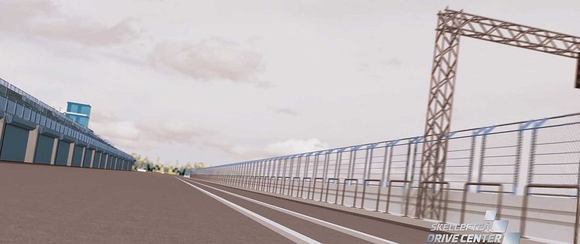 Clip Race track in Northern Sweden (to be built 2019) with Geobrugg Fences