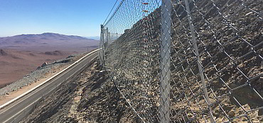 Rockfall protection barriers GBE