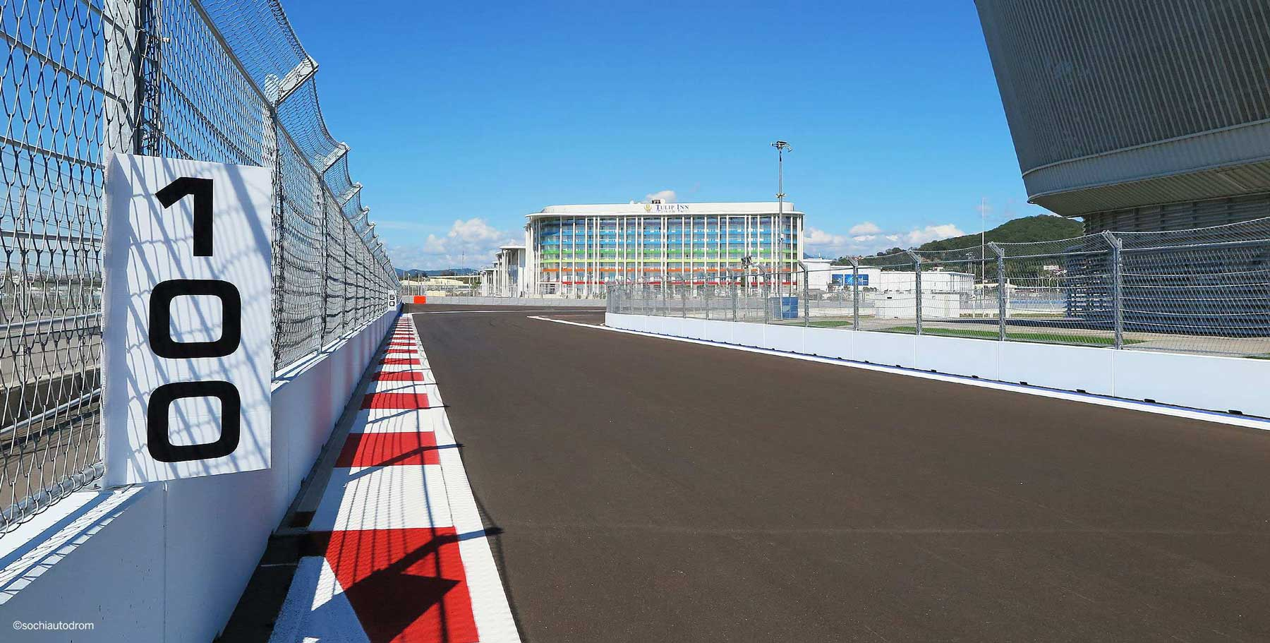 FIA-approved for racetracks