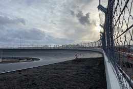 The creation of Zandvoort's unique banking has been a joint effort between circuit design and safety companies