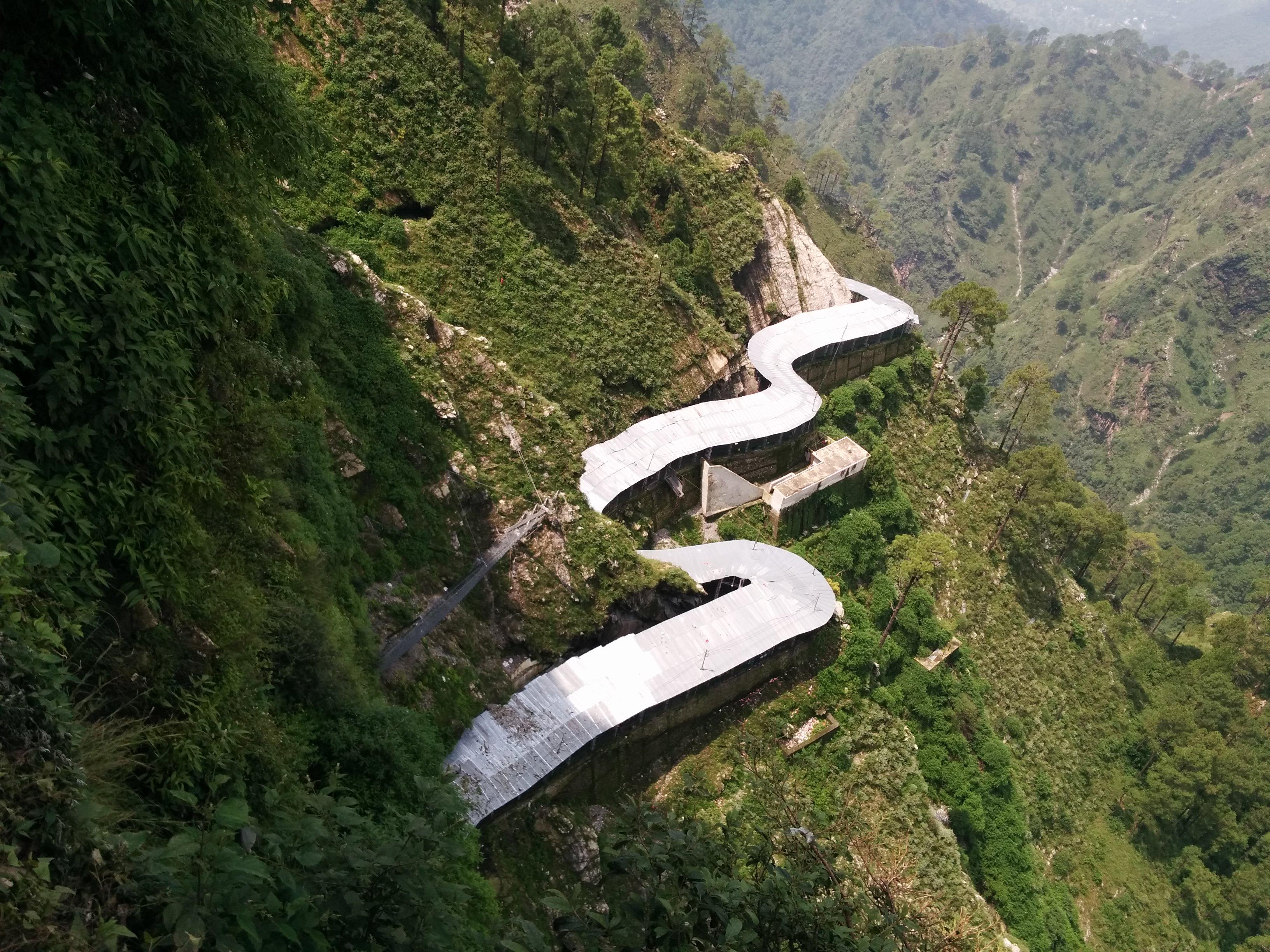 Trek Route To Shri Mata Vaishno Devi Shrine 1 2016