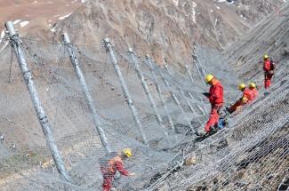 Los Bronces (2) 2014 - Geobrugg
