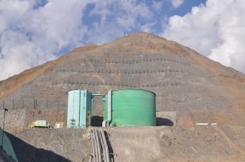Barrera de Contención de Avalanchas, Confluencia, Los Bronces 2014 - Geobrugg