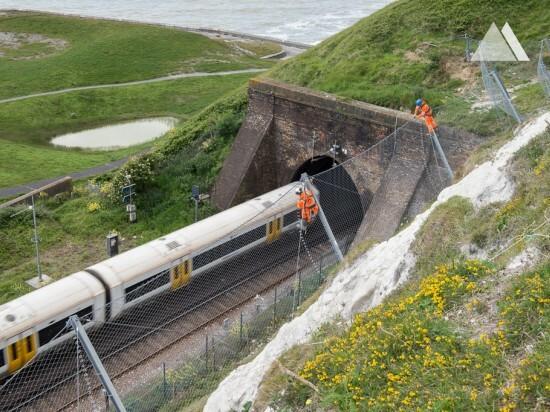 Samphire Hoe in Dover 2015 - Geobrugg