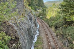 Slope Protection - Stromeferry Railway Station 2021