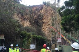 Telegraph Hill Rock Slope Improvements 2015 - Geobrugg