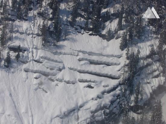 Prevenção de avalanches - Steingraben 2005