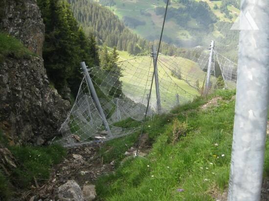 Geisshorn-Arensa snow nets 2012 - Geobrugg