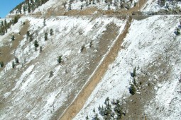 Beartooth Highway Debris Flow 2003 - Geobrugg
