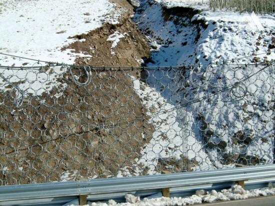 Beartooth Highway Debris Flow 2003 - Geobrugg