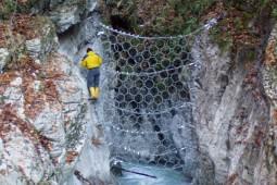 Driftwood Barrier Goiserer Weissenbach 2004 - Geobrugg