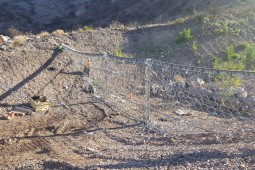 Camarillo Springs emergency Debris Flow Barriers 2015 - Geobrugg