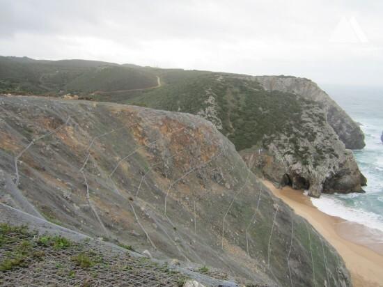 Praia da Adraga, Sintra 2015 - Geobrugg