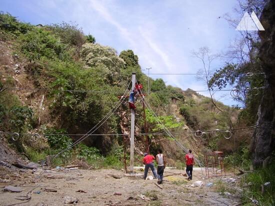 Quebrada Osorio 2008 - Geobrugg